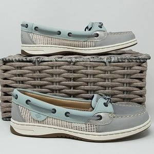 NWOB Sperry Top-Sider Boat Shoe Wmn's 7.5 Grey B6E